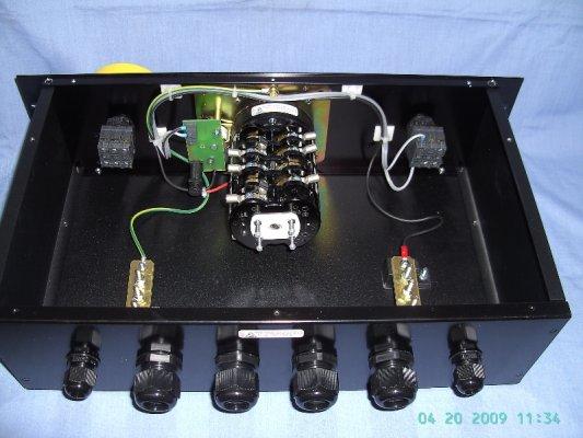 Custom built 50A D2 type Cam Switch with custom casing